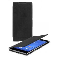 Atverčiamas dėklas Sony Xperia Z3 Plius (Juodas)
