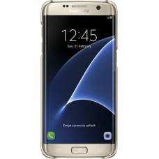 Silikoninis dėklas Samsung Galaxy S7 Edge G935 (Auksinis)
