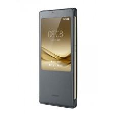 Atverčiamas dėklas Huawei MATE 8 (Pilkas)